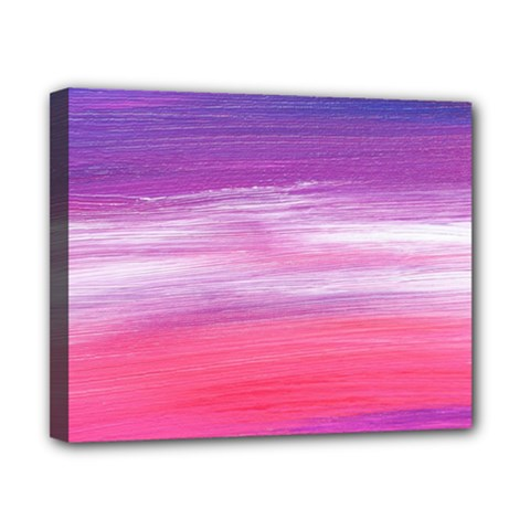 Abstract In Pink & Purple Canvas 10  X 8  (framed) by StuffOrSomething