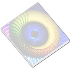 Eerie Psychedelic Eye Small Memo Pad by StuffOrSomething
