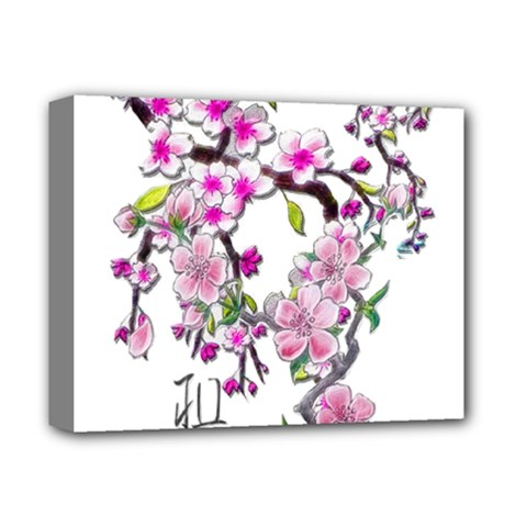 Cherry Bloom Spring Deluxe Canvas 14  X 11  (framed) by TheWowFactor