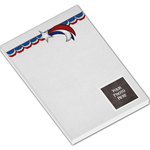 Celebrate America Memo 3 By Lisa Minor   Large Memo Pads   Sk4txku4blry   Www Artscow Com