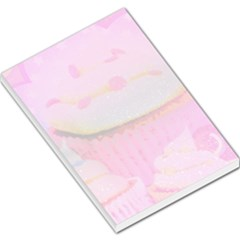 Cupcakes Covered In Sparkly Sugar Large Memo Pad by StuffOrSomething