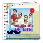 dad, fathers day, boy, man, fun, family, happy - 8x8 Photo Book (20 pages)