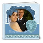 Wedding Blue Book - 8x8 Photo Book (20 pages)