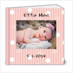 Etta Newborn Album - 6x6 Photo Book (20 pages)