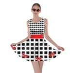 My Black and White Check Skater Dress
