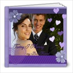 Wedding purple Book - 8x8 Photo Book (20 pages)