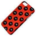 Red Cute Dazzled Bug Pattern Apple iPhone 5 Classic Hardshell Case View4