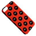 Red Cute Dazzled Bug Pattern Apple iPhone 5 Classic Hardshell Case View5