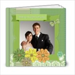 Wedding  green Book - 6x6 Photo Book (20 pages)