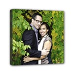 Nick and Jen Canvas - Mini Canvas 6  x 6  (Stretched)