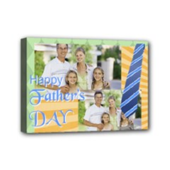 fathers day - Mini Canvas 7  x 5  (Stretched)