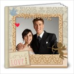Wedding  gold Book - 8x8 Photo Book (20 pages)