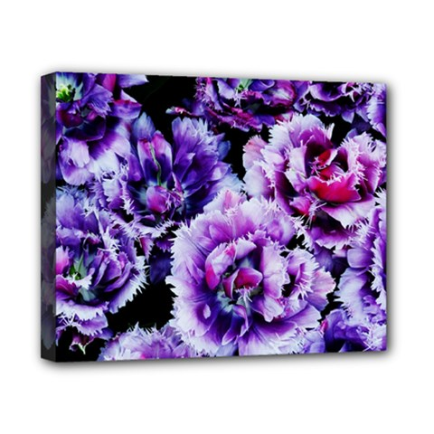 Purple Wildflowers Of Hope Canvas 10  X 8  (framed) by FunWithFibro
