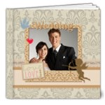 Wedding  gold Book - 8x8 Deluxe Photo Book (20 pages)