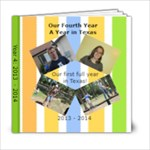 Year 4 Book - 6x6 Photo Book (20 pages)