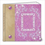 princess birthday book - 8x8 Photo Book (20 pages)
