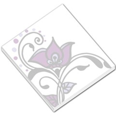 Awareness Flower Small Memo Pad by FunWithFibro