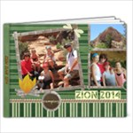 zionbook2014 - 9x7 Photo Book (20 pages)