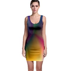 Abstract Dawning Bodycon Dress by StuffOrSomething