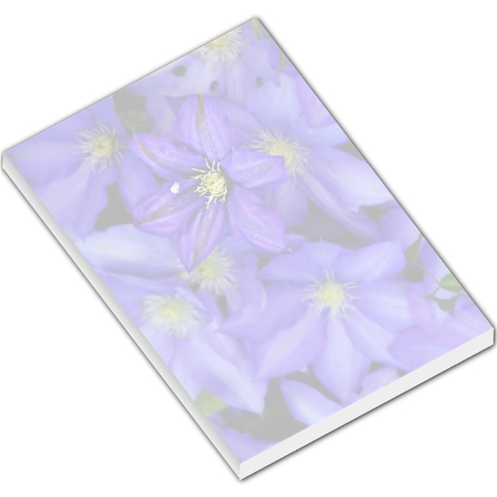 Purple Wildflowers for FMS Large Memo Pad