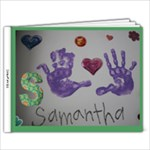 Samantha Lee New born-4 years old - 11 x 8.5 Photo Book(20 pages)