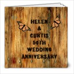 Helen  & JC 50th Ann. - 8x8 Photo Book (20 pages)