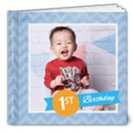 Jordan - Cake Smash - 8x8 Deluxe Photo Book (20 pages)