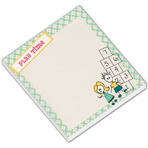 Hop Skip Jump Memo By Lisa Hanks   Small Memo Pads   T0olona9s8if   Www Artscow Com
