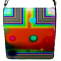 Crossroads Of Awakening, Abstract Rainbow Doorway  Removable Flap Cover (Small) View1