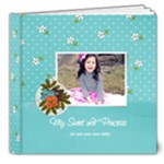 8x8 DELUXE: My Sweet Princess V2 (Multiple Pics) - 8x8 Deluxe Photo Book (20 pages)