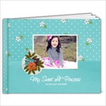 7x5: My Sweet Princess V2 BRAG BOOK - 7x5 Photo Book (20 pages)
