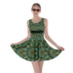 Emerald Mandala  Skater Dress