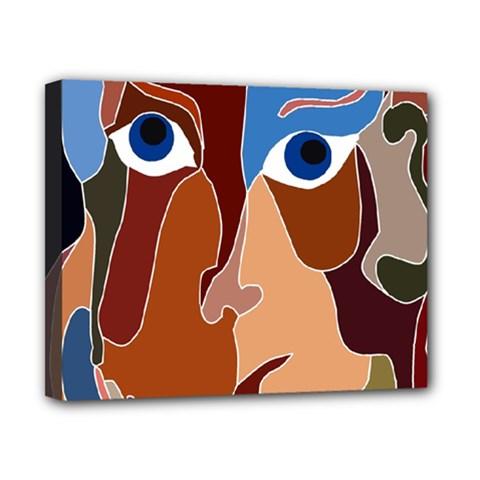 Abstract God Canvas 10  x 8  (Framed)