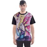 Portrait of Sweet Sadness   Full All Over Print Sport T-shirt