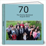 70 weekend - 12x12 Photo Book (20 pages)