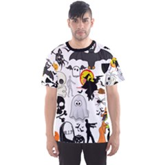 Halloween Mashup Full All Over Print Sport T Shirt