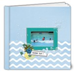 8x8 (DELUXE)- Water Fun - 8x8 Deluxe Photo Book (20 pages)