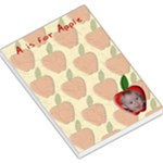 A is for Apple Large Memo Pad - Large Memo Pads