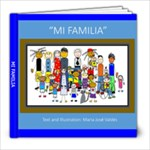 MI FAMILIA - 8x8 Photo Book (20 pages)