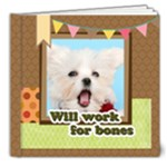 dog - 8x8 Deluxe Photo Book (20 pages)