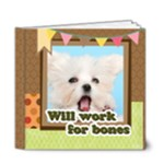 dog - 6x6 Deluxe Photo Book (20 pages)