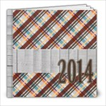 autumn splendor sample - 8x8 Photo Book (20 pages)
