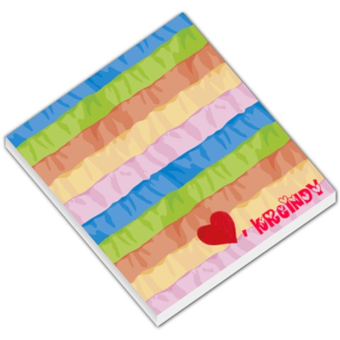 Notepad By Kelly   Small Memo Pads   Vldicv44v918   Www Artscow Com