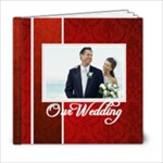 our wedding - 6x6 Photo Book (20 pages)