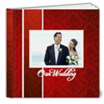 our wedding - 8x8 Deluxe Photo Book (20 pages)