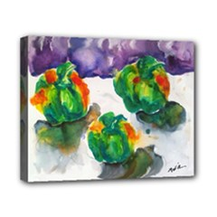Green Pepper - Canvas 10  x 8  (Stretched)