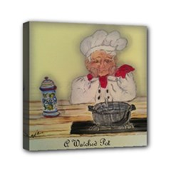 Chef Paulo - Mini Canvas 6  x 6  (Stretched)