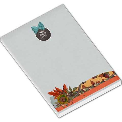 Ode To Autumn Memo Pad By Lisa Minor   Large Memo Pads   Cru08319nkf7   Www Artscow Com