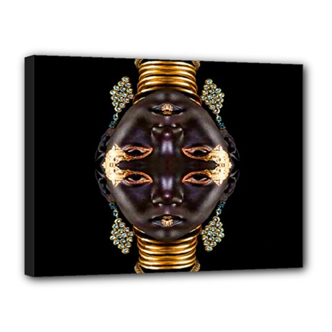 African Goddess Canvas 16  X 12  (framed) by icarusismartdesigns