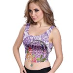 Flowers crop top